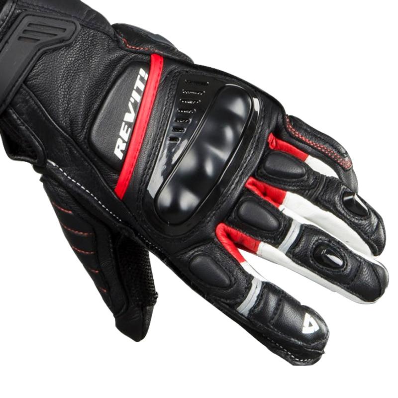 Revit Chicane Motorcycle Mens Genuine Leather Racing Gloves EX DISPLAY Vintage Motorbike Gloves new Guantes Moto