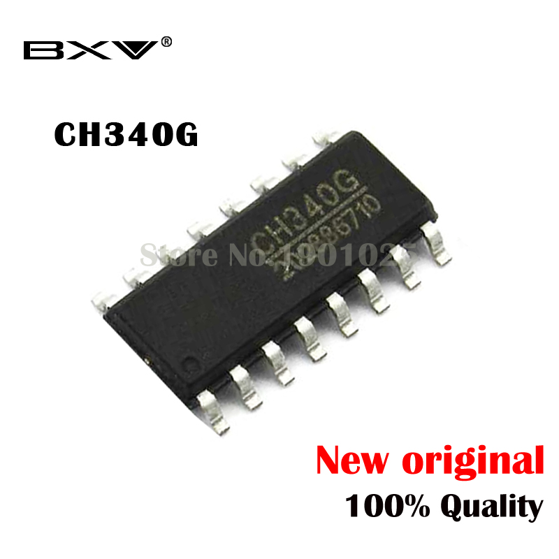 5pcs/lot CH340G CH340 340G SOP-16 New Original IC