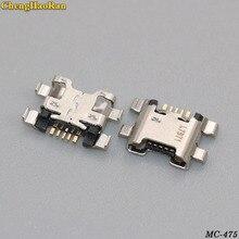 100 stks/partij Micro USB Jack Voor Huawei Honor 7X 7A 7C Voor Honor 9 Lite Genieten 7S Opladen Connector charge Port Socket Dock Plug