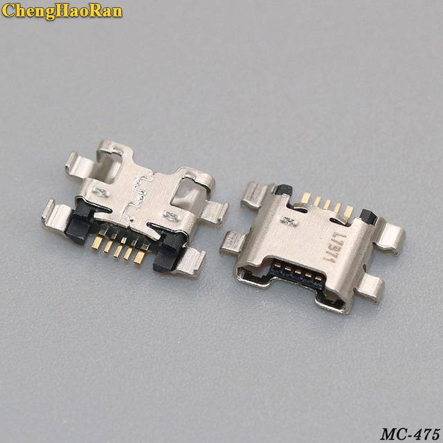 100PCS/lot Micro USB Jack For Huawei Honor 7X 7A 7C For Honor 9 Lite Enjoy 7S Charging Connector Charge Port Socket Dock Plug