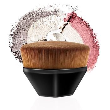 Hot Single Six Corners Powder Makeup Brushes Diamond Cosmetic Hexagon No Trace Foundation Brush Silicone Make Up Brushes 1
