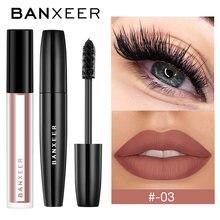 Набор для макияжа banxeer Косметика 2 шт блеск губ + тушь ресниц