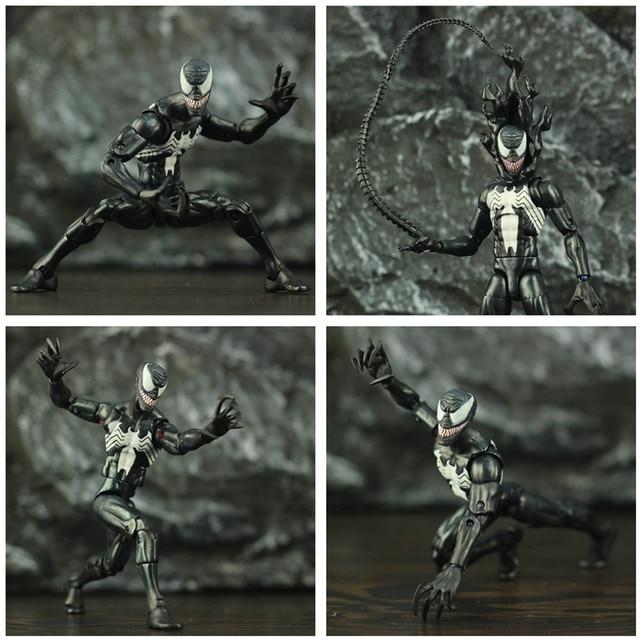 Black Spider Man Symbiote Action Figure 6Inch 3