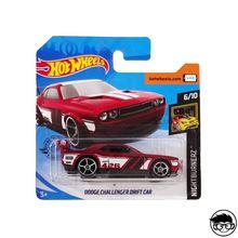 Hot Wheels Dodge Challenger Дрифт автомобиль Nightburnerz 179/250 короткая карта