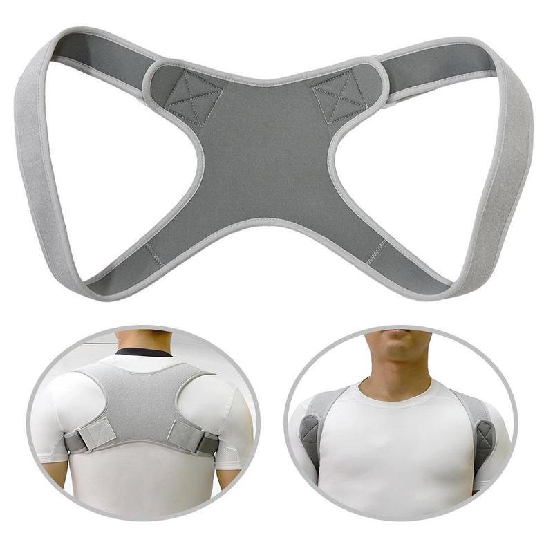 Invisible Back Posture Orthotics Posture Corrector Men Women Upper Back Brace Clavicle Support Shoulder Neck Pain