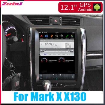 ZaiXi Android Car Multimedia GPS For Toyota Mark X X130 2011~2013 Radio vertical screen tesla screen Radio Video USB DAB+