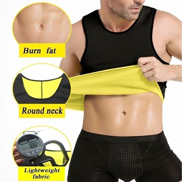 Modeling Strap Male Mens Tee Shirt Vest Sweat Shirt Corset Slimming Underwear Belt Reducing Belts Shapers Neoprene Body Shaper 4