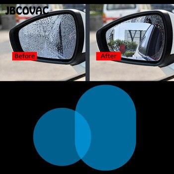 Accesorios para coche película para espejo Retrovisor HD antiniebla, antiarañazos, a prueba de lluvia, funda transparente, pegatina de espejo para coche