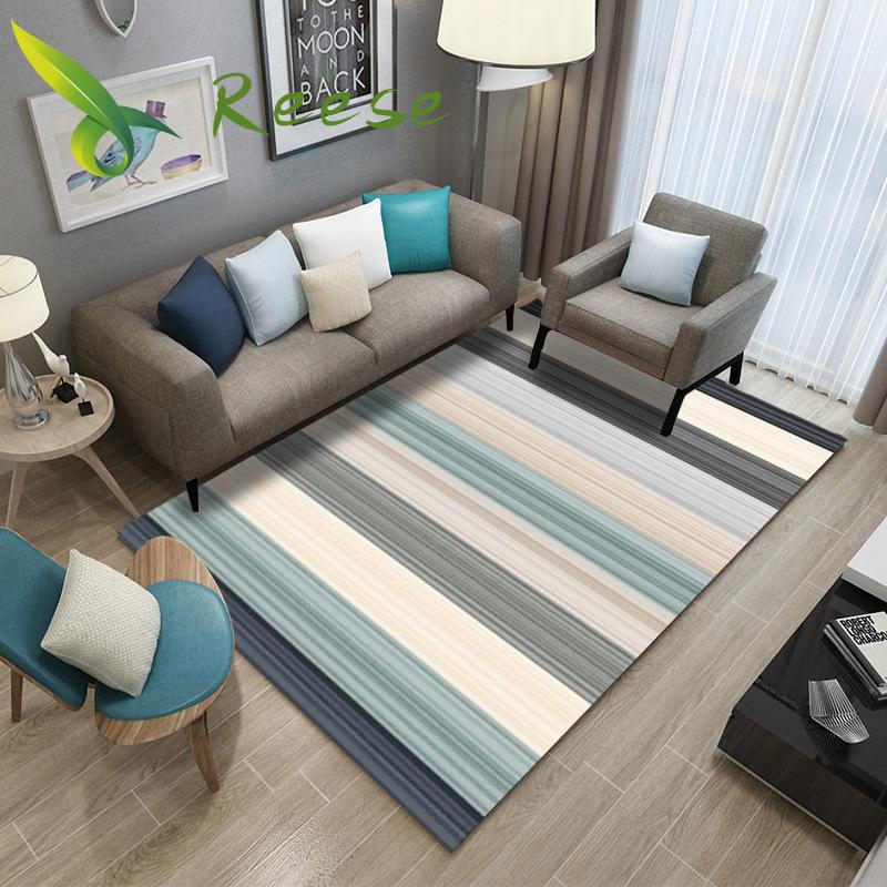 Modern Art Office Japanese Cover Carpets Waterproof For Living Room Black And White Fabric Patterned Colourful Home Decor Rugs