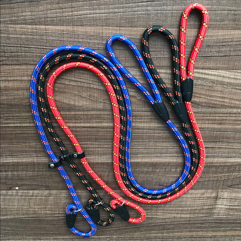 Pet Dog Hand Holding Rope P Pendant Multi-color Fine Lines Nylon Traction Dog Pendant Pet Supplies