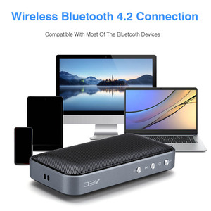 Image 4 - Wireless Bluetooth 4.2 Speaker Portable Music Player Mini Loudspeaker With Built In Microphone