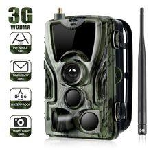 Cámara de rastreo HC-801G 3G para caza, videocámara de 16MP, SMS/MMS/SMTP, IP66, trampas para fotos, 0,3 s, tiempo de disparo, 940nm, LED de vigilancia salvaje