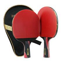 Hot  Single Professional Training Lightweight Carbon Fiber Table Tennis Bat Racket Ping Pong Paddle Practicee