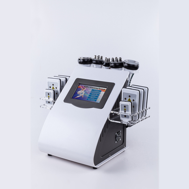 40K Cavitation Ultrasonic Weight Loss Beauty Machine (Multi-polar RF  Anti-wrinkle Rejuvenation Slimming Machine)