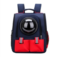 New Cat Bag Folding Pet Backpack Porous Breathable Pet Bag Out Carrying Backpack Pet Bag
