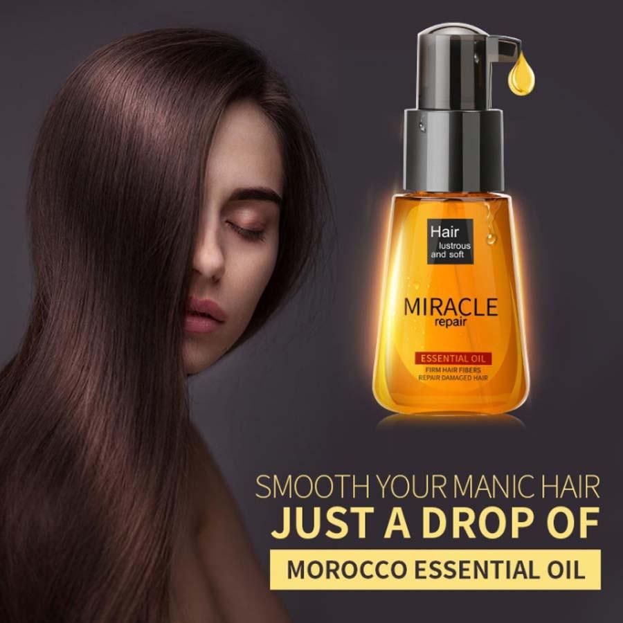 LAIKOU Pure Natural Argan Moroccan Oil Essential Hair Shampoo Professional Mask for Hair Hair Oil Treatment Products