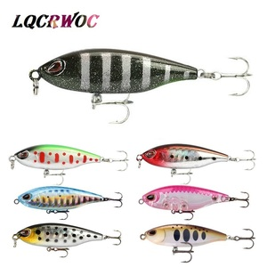 NEW 45mm 3g Mini Pencil lure small Topwater crankbaits trolling trout fishing lures shallow swimmer minnow whopper plopper pesca(China)