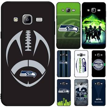Seattle Seahawks Team Phone Case For Samsung GalaxyA51 A40 A50 A70 A71 Note 8 9 10 Tpu Cases Cover image