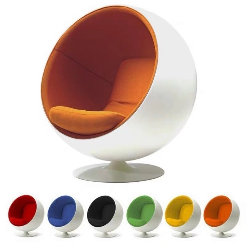 U-BEST Fashionable Design Fiberglass Fabric Modern Leisure Global Chair