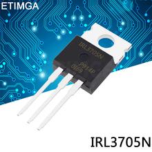 5PCS LOT IRL3705NPBF TO-220 IRL3705N TO220 IRL3705 new MOS FET transistor tanie tanio CN (pochodzenie) Nowy Tranzystor polowy Przez otwór