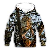 Худи с леопардовым 3d принтом золотистого ретривера одежда для
