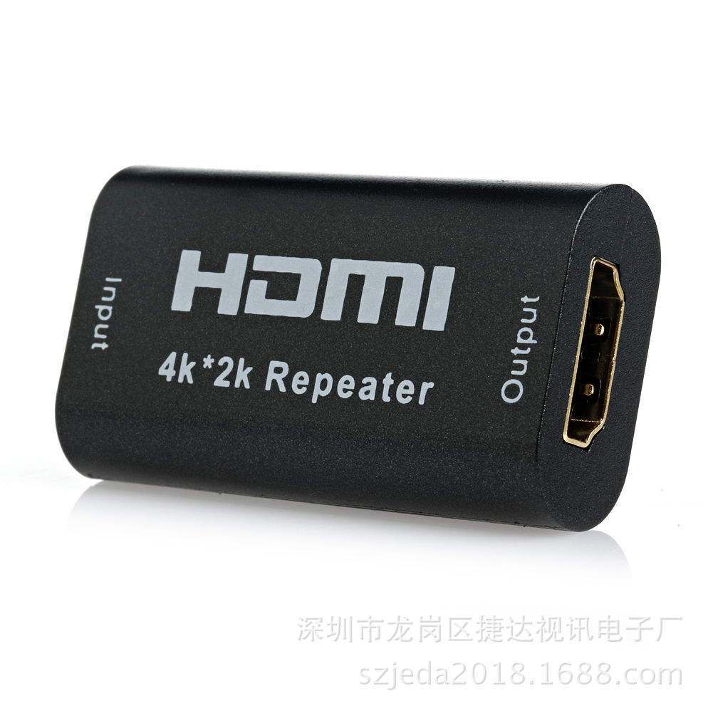 HDMI Signal Amplifier Repeater HDMI Extender 40 M Female To Female Head Long Line Drive