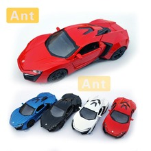 Ant 1:32 Car Toy Diecast Model fast and furious Laiken alloy car model sports toy ornaments