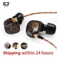 KZ ATE auriculares intrauditivos deportivos HiFi con controlador de cobre ATR HD9, para la ejecución de estéreo, con micrófono, para música y juegos