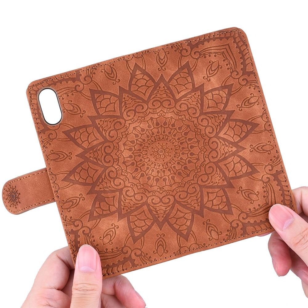 Hda0b864765ff4d289eef5fd785a7253fa Matte Leather Phone Case For Samsung Galaxy A50 A70 A30 A40 A20 A10 A10E A20E A10S A20S A30S A50S Flip 3D Mandala Book Case