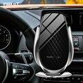 10 Вт/15 Вт Qi автомобильное беспроводное зарядное устройство Быстрая зарядка Индукционная Авто ручка держатель мобильного телефона для iPhone 11...