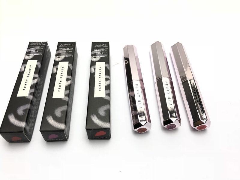 2019 NEW 12 Color FENTY BEAUTY BY RIHANNA  Matte Lipstick Lip Gloss Cosmetics MATTEMOISELLE Makeup Plush Matte Lipstick