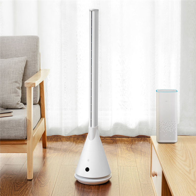 YOUPIN Rosou SS4 Intelligent Leafless Pedestal Fan Mijia APP Control 11 Speed Wind Timing Household Fan With Remote Control