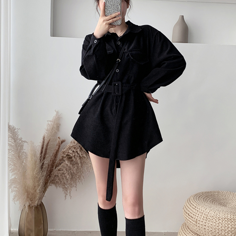 Mozuleva 2020 весенние блузки с длинным рукавом, однобортные женские рубашки с поясом, топы с нагрудным карманом, женские вельветовые блузки, руба...