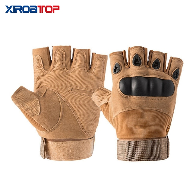 Hot Sale 2020 Men Women Outdoor Sport Tactical Gloves Airsoft  Half Finger Gloves Military Combat Gloves Shooting Hunting Gloves 5