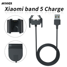 Top Quality Charging Cradle Dock Charger For Xiaomi Mi Band 5 Miband 5 Watch Band usb Cable for Mi Band 5 USB Data fast Charging fast charging dock stand with 1m usb charger dock cable for fossil gen 5 4 for fossil hybrid charging cable accessories