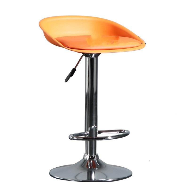 Nordic Minimalist Bar Chair Modern Personality High Stool Backrest Bar Bar Chair Cash Register Front Desk Rotary Lift Chair
