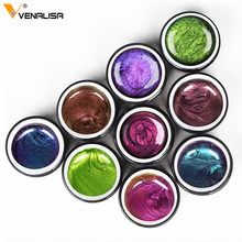 VENALISA 9D Cat Eye Gel Polish Chameleon Magnetic Gel Long Lasting Shining Laser Cat Eye Nail Art Soak Off UV LED Gel Varnish 3pcs ibdgel nail magnetic gel nail polish cat eye nail 9d art gel long lasting shining laser soak off uv led gel varnish 15ml