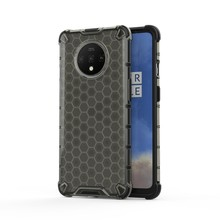 For Motorola Moto G6 Play Casing Transparent Honeycomb Pattern Shock-proof TPU PC Hybrid Phone Cover for Moto G6Play(China)
