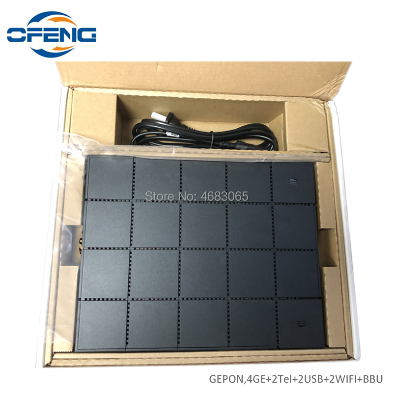 Huawei 10GE GPON ONU HN8245Q With 4GE 2Tel Dual Bank Wifi 2.4G And 5GHZ XGPON ONT, English Firmware Optical Fiber Terminal