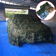 1 Pc Jacht Militaire Camouflage Netten Woodland Army Training Netting Auto Covers Tent Schaduw Camping Zon Onderdak(China)