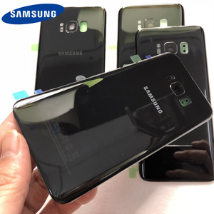 Image 3 - For Samsung Galaxy S8 Plus S8+ G950 G955 100% Original Battery Back Cover Glass Door Housing Rear Camera Glass S8 Rear cover