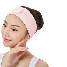 Bandeau de cheveux doux et ajustable pour femmes, accessoires de maquillage, de Yoga, d'exercice, pour se laver le visage, douche, couvre-chef
