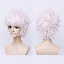 (AliceWig 153) Heat Resistant Fiber Hairpiece Synthetic Hair Wig The Legend of Zelda Anime Breath of the Wild Cosplay Wig(China)