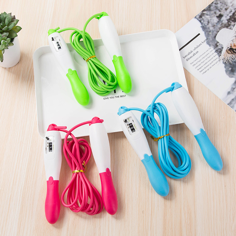 2650 Profession Electronic Counting Jump Rope Adult Pattern Skipping Rope Students The Academic Test For The Junior High School