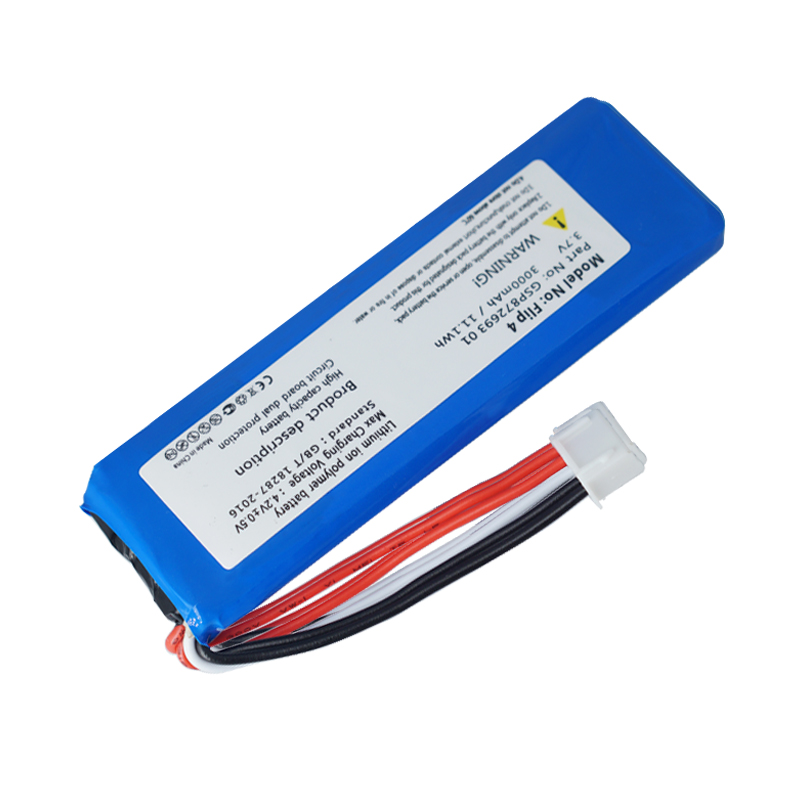OHD 3000mAh Battery GSP872693 01 for JBL Flip 4, Flip 4 Special Edition image