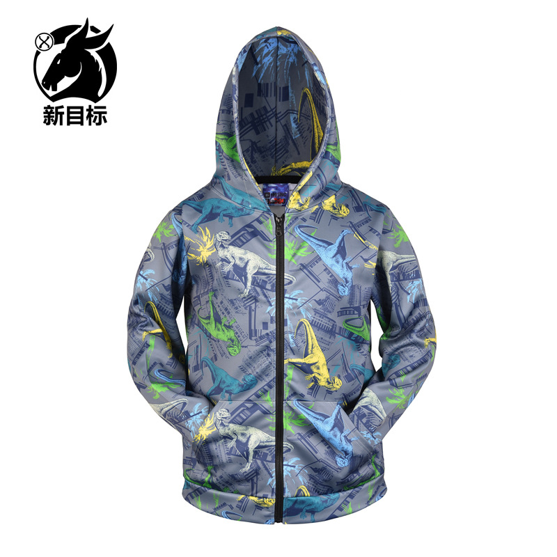 Street Popular Brand Wei Shirt Europe And America Large Size Men's Sweatshirts & Hoodies 2019 Autumn And Winter New Style Coat D
