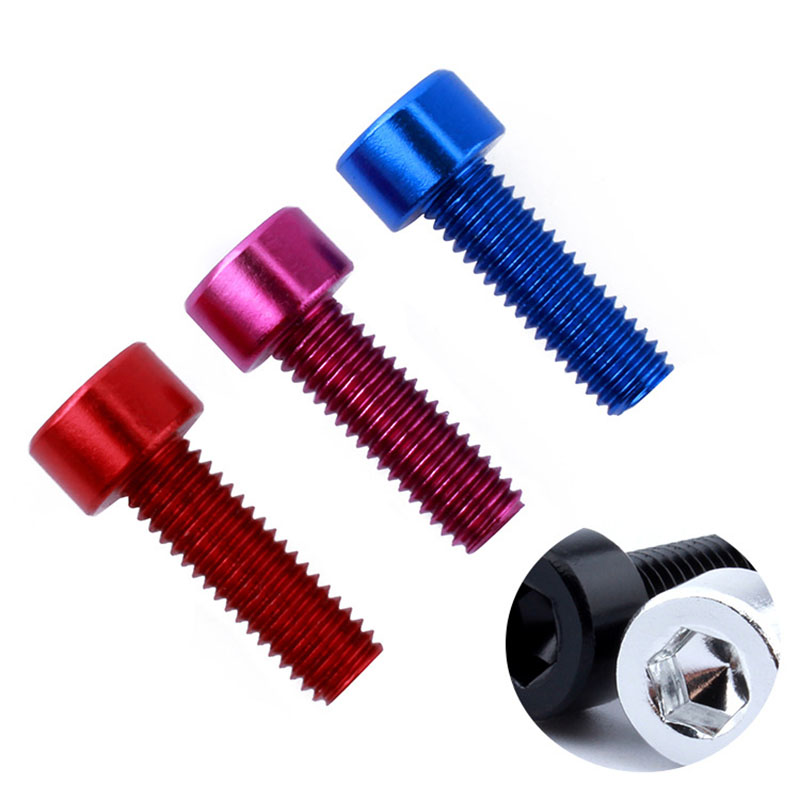ALI shop ...  ... 33056919266 ... 3 ... 2PCS Bicycle Water Bottle Holder Screws Bottle Cage Screw Bicycle Bottle Bolt Bicycle Aluminum Alloy Screw Bike Repair Accessory ...