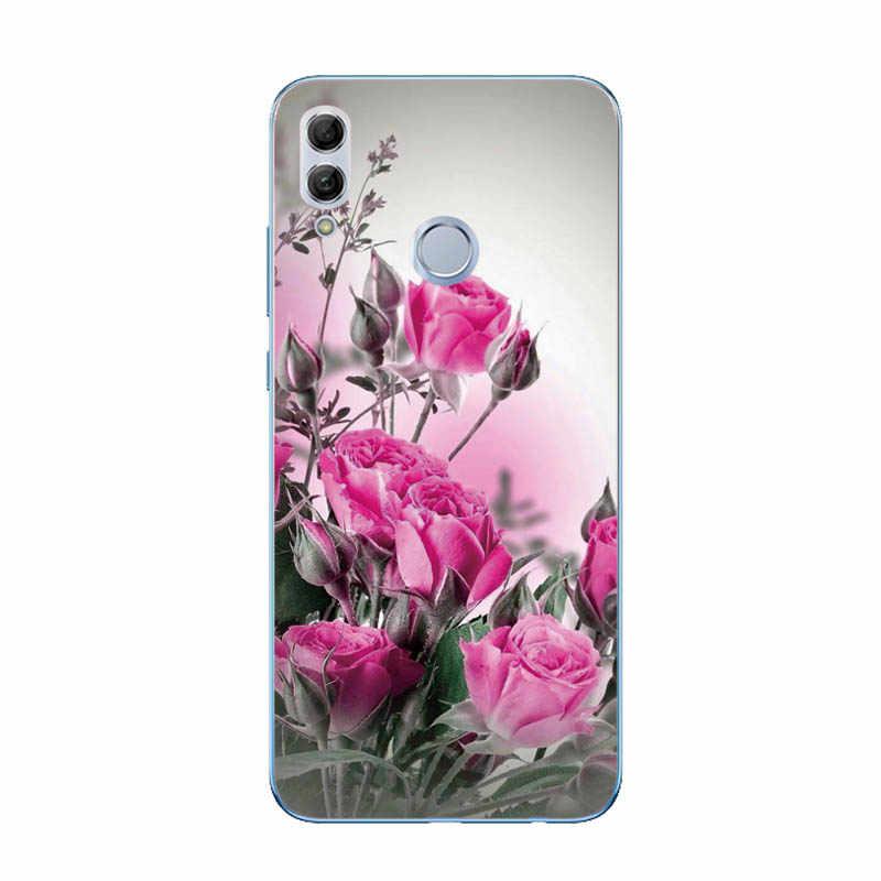 Für Huawei Honor 10 Lite Fall Abdeckung Weichen Silikon Dünne TPU Zurück Abdeckung Für Fundas Huawei P Smart 2019/ ehre 10 Lite Telefon Fall