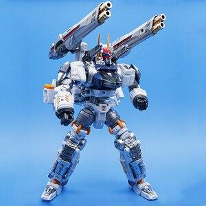 Image 4 - Robot transformable MFT Diaclone DA06, serie perdida, modelo de figura de acción, Guerrero, deformación, Anime