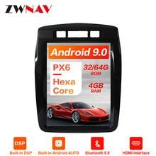 Android 9,0 4G DSP Tesla стиль Автомобильный gps навигация для VW Volkswagen Touareg 2010+ головное устройство мультимедийный плеер радио магнитофон
